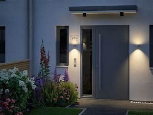 Außenbeleuchtung Haus Led : hauseingang gestalten mit der richtigen beleuchtung ~ Lizthompson.info Haus und Dekorationen