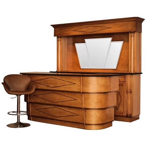 deco style front and back bar at 1stdibs
