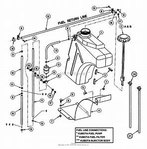 Kubota L185 Parts Diagram