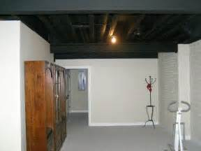 sprayed basement ceiling quotes