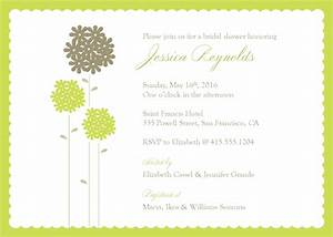 wedding shower invite template best template collection With inviation templates