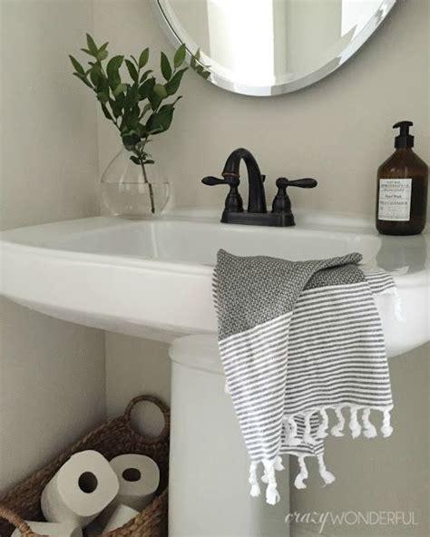 powder room with pedestal sink decorating ideas wonderful powder room decor simple bathroom design Powder Room With Pedestal Sink Decorating Ideas