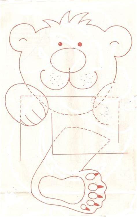 gabarit cadre ourson polaire