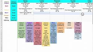 Meal planner template google docs printable planner template for Diary template google docs