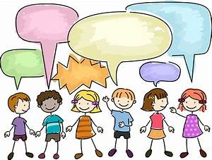 clipart school children talking with each other Clipground