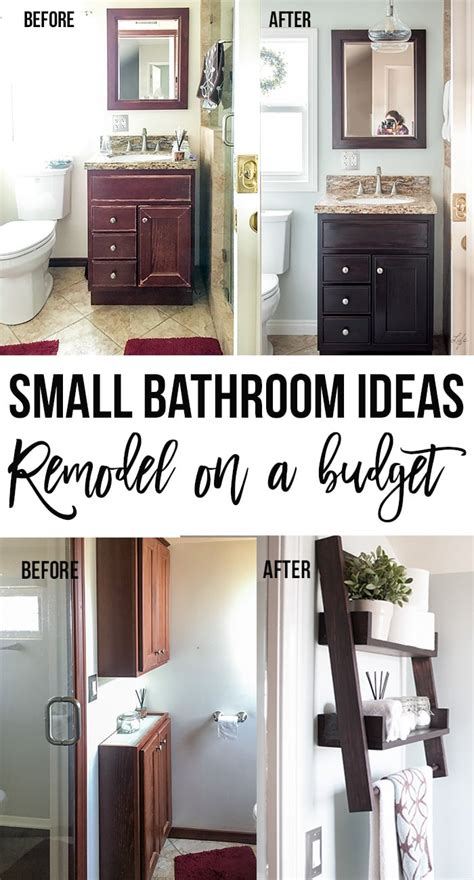 Diy Small Bathroom Ideas by Small Bathroom Remodel Ideas On A Budget Anika S Diy