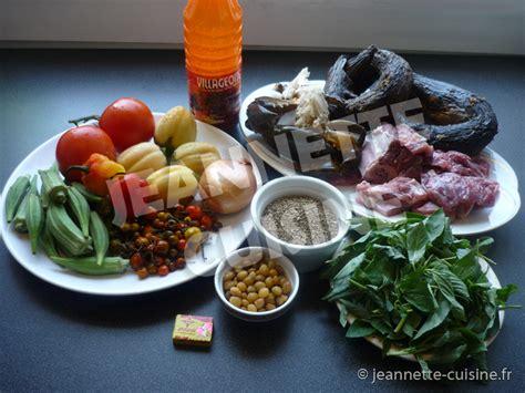 cuisine africaine facile la sauce n tro plat africain jeannette cuisine