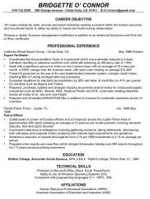 resume for changing careers professionally written resume sles rwd
