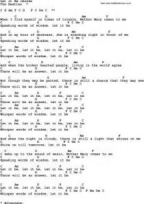 1000 images about sheet music on pinterest guitar chords let it be and simon garfunkel