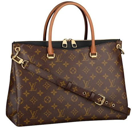 addition louis vuitton monogram pallas  black