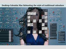 Active Desktop Calendar Mac — Rebooting the style of