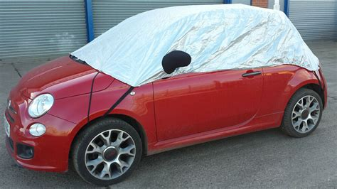 Fiat Car Cover by Fiat 500 2005 Onwards Half Size Car Cover Ebay