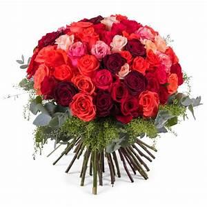 Enviar rosas 60 Rosas Multicolor de Tallo Corto Interflora