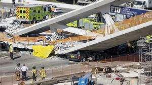 Multiple deaths as bridge collapses on to busy highway