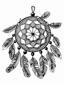 Dessin Atrape Reve : kids n 16 coloring pages of dreamcatchers ~ Farleysfitness.com Idées de Décoration