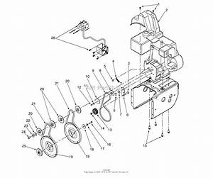Mtd 31ae642f206  2000  Parts Diagram For Engine And V