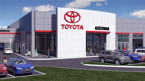 ackerman toyota dealership   hill moves  st louis business journal