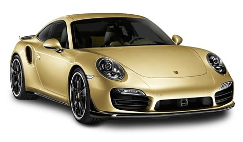 porsche transparent gold porsche 911 turbo aerokit car png image pngpix