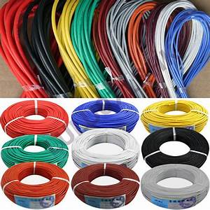 2m Flexible Silicone Wire Rc Cable Ul 6 8 10 12 14 16 18