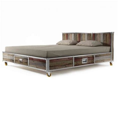 platform bed frame modern white teak wood size bed frame size Industrial