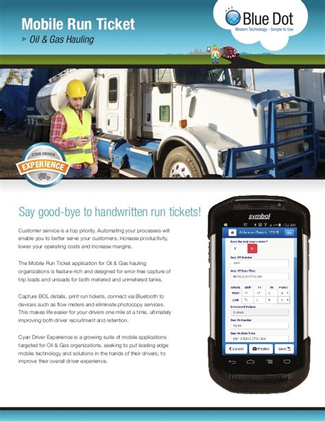 how much is a ticket for running a light gas hauling mobile run ticket solution