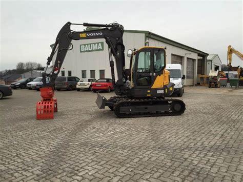 volvo ecrd demolition excavator  germany  sale