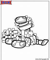 Minecraft Coloring Silverfish Pages Printable Scribblefun Characters Prints sketch template