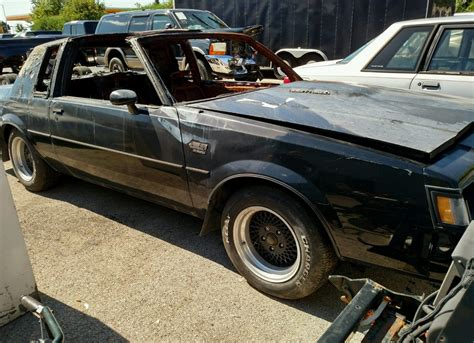 Buick Grand National 1987 by Burn Victim 1987 Buick Grand National