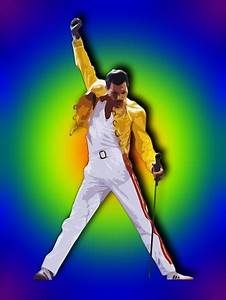 Freddie Mercury in his iconic pose. | MY FRIENDS ...
