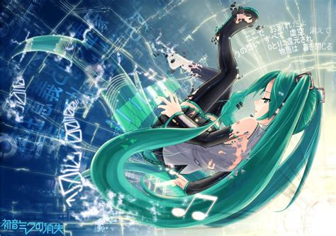 The Disappearance Of Hatsune Miku Anime And The Disappearance Of Hatsune Miku Vocaloid Image