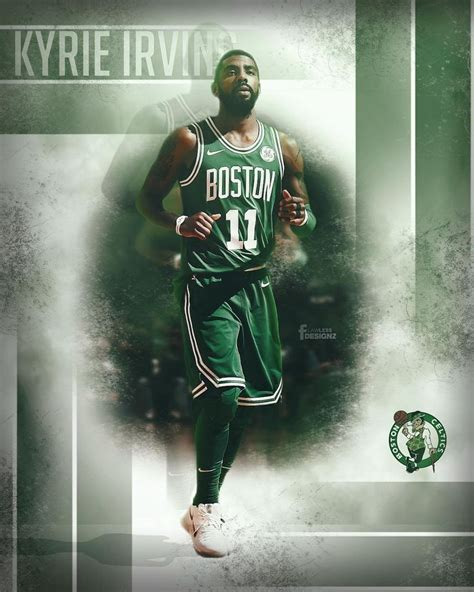 pin  victor anastasis  boston celtics kyrie irving
