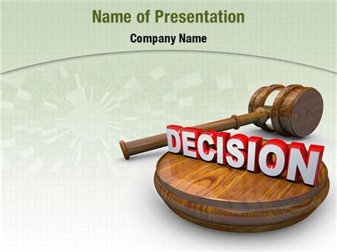 decision powerpoint templates decision