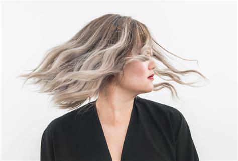 dyeing  hair gray
