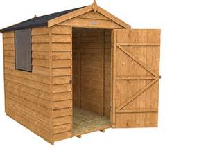 Wooden Shed Apex Overlap