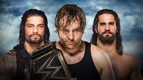 wwe battleground  dean ambrose  seth rollins