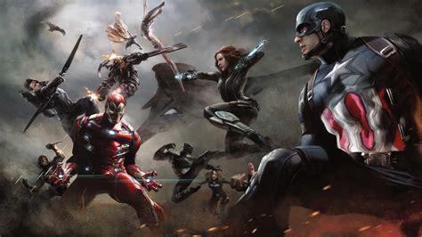 captain america civil war artwork wallpapers hd