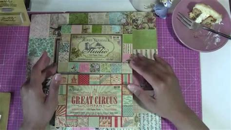 scrapbook collective haul hobby lobby  ac moore youtube