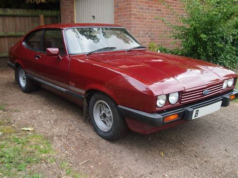1985 Lacquer Red Ford Capri Laser 2.0. SOLD   Car And Classic
