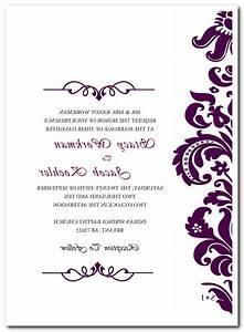 blank wedding invitation card template matik for With blank silver wedding invitations