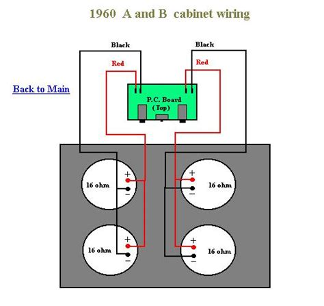Peavey Speaker Wiring Diagram by Help With Marshall Cabinet Harmony Central