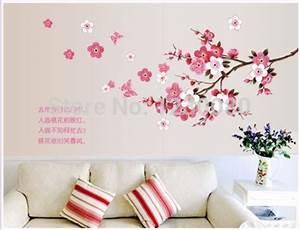 Branche sticker mural promotion achetez des branche for Chambre bébé design avec livraison fleurs deuil express