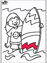 Coloring Surfing Pages Sports Funnycoloring Popular Advertisement sketch template