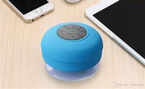2019 Mini Portable Subwoofer Shower Waterproof Wireless