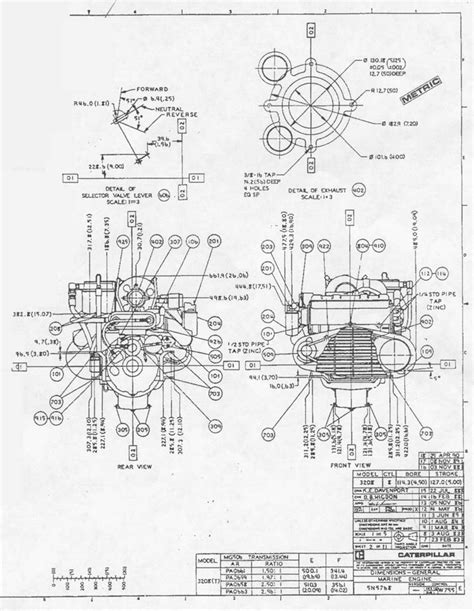 Cat Engine Parts Diagram Automotive