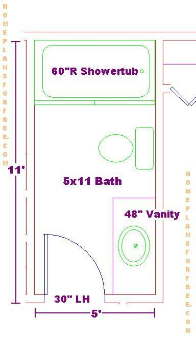Fascinating 40+ Bathroom Layout Plans Free Inspiration Of