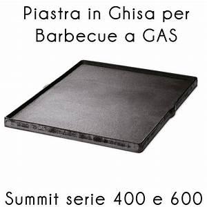 Piastra ghisa Summit serie 400 600 Weber Stilcasa Net: piastre da cucina
