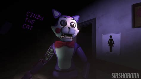 Withered Cindy The Cat By Goldengamerx2 On Deviantart