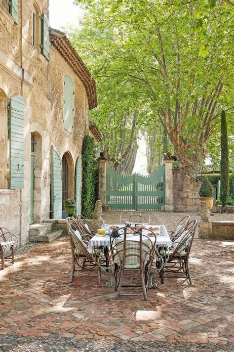 beautiful french country bastide chateau mireille