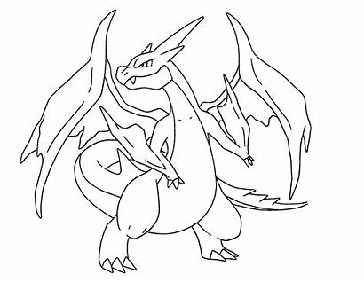 Garchomp Coloring Pages Pokemon Printable Getcolorings Inspiration