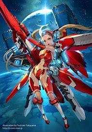 Anime Mechanical Girl